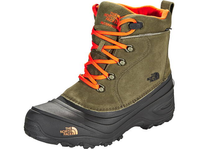 The North Face Chilkat Lace 2 Shoes Barn tarmac green/scarlet ibis